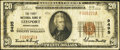 National Bank Notes:Pennsylvania, Leesport, PA - $20 1929 Ty. 1 The First NB Ch. # 9495. ...