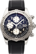 Timepieces:Wristwatch, Breitling Ref. A13356 Steel Chronomat Evolution CertifiedChronometer. ...
