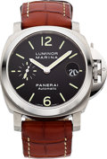 Timepieces:Wristwatch, Panerai Luminor Marina OP6690 PAM00048 Steel Automatic. ...