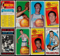 Basketball Cards:Lots, 1969 and 1970 Topps Basketball Collection (131)....
