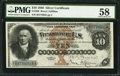 Large Size:Silver Certificates, Fr. 288 $10 1880 Silver Certificate PMG Choice About Unc 58.. ...