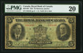 Canadian Currency: , Montreal, PQ- Royal Bank of Canada $5 Jan. 3, 1927 Ch # 630-14-02....