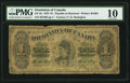 Canadian Currency: , DC-8a $1 1878. ...
