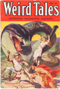 Pulps:Horror, Weird Tales - December 1932 (Popular Fiction) Condition: VG....