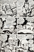 Original Comic Art:Panel Pages, Jack Kirby and Mike Royer Captain America #211 Page 23Original Art (Marvel, 1977)....
