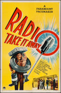 """Movie Posters:Comedy, Radio, Take it Away (Paramount, 1947). One Sheet (27"""" X 41""""). Comedy.. ..."""