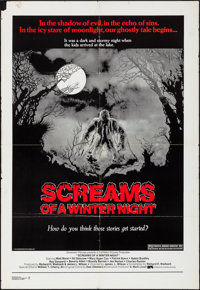 "Screams of a Winter's Night & Other Lot (Dimension, 1979). One Sheets (2) (29"" X 42"", 27"" X 40&qu..."