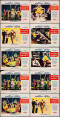 "Movie Posters:Comedy, Artists and Models (Paramount, 1955). Lobby Cards (10) (11"" X 14""). Comedy.. ... (Total: 10 Items)"