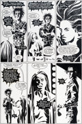 Original Comic Art:Panel Pages, Jill Thompson and Vince Locke Sandman V2#45 Story Page 19Original Art (DC/Vertigo, 1993)....