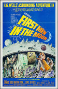 "Movie Posters:Science Fiction, First Men in the Moon (Columbia, 1964). One Sheet (27"" X 41"").Science Fiction.. ..."