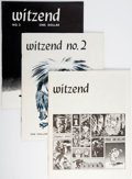 Magazines:Fanzine, Witzend #1-7 Group (Wally Wood, 1966-68) Condition: Average FN/VF.... (Total: 7 Items)