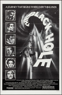 """The Black Hole & Other Lot (Buena Vista, 1979). One Sheets (2) (27"""" X 41""""). Science Fiction. ... (Total: 2..."""