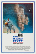"Movie Posters:Adventure, The Right Stuff & Other Lot (Warner Brothers, 1983). One Sheets(2) (27"" X 41"") & Deluxe Mini Lobby Card Set of 12 (8"" X 10""...(Total: 14 Items)"