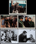 "Movie Posters:War, The Guns of Navarone & Others (Columbia, 1961). Color Photos(3), Photos (2), Mini Lobby Card Set of 8 (8"" X 10""), & OneShe... (Total: 15 Items)"