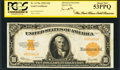 Large Size:Gold Certificates, Fr. 1173a $10 1922 Gold Certificate PCGS About New 53PPQ.. ...