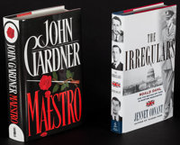 Maestro by John Gardner & Others Lot (Whithington Books, 1993). Autographed Hardcover Book & Hardcover Books (3)...