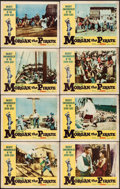"Movie Posters:Adventure, Morgan the Pirate (MGM, 1961). Lobby Card Set of 8 (11"" X 14"").Adventure.. ... (Total: 8 Items)"
