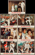 "Movie Posters:Elvis Presley, The Trouble with Girls (MGM, 1969). Lobby Card Set of 7 (11"" X14""). Elvis Presley.. ... (Total: 7 Item)"