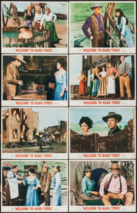 """Welcome to Hard Times (MGM, 1967). Lobby Card Set of 8 (11"""" X 14""""). Western. ... (Total: 8 Items)"""