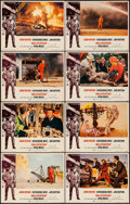 """Movie Posters:Action, Hellfighters (Universal, 1969). Lobby Card Set of 8 (11"""" X 14"""").Action.. ... (Total: 8 Items)"""