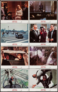 "A View to a Kill (United Artists, 1985). Lobby Card Set of 8 (11"" X 14""). James Bond. ... (Total: 8 Items)"