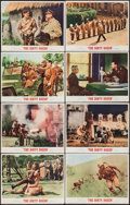 "Movie Posters:War, The Dirty Dozen (MGM, 1967). Lobby Card Set of 8 (11"" X 14""). War.. ... (Total: 8 Items)"