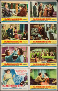 "Movie Posters:Bad Girl, The Wayward Girl (Republic, 1957). Lobby Card Set of 8 (11"" X 14"").Bad Girl.. ... (Total: 8 Items)"
