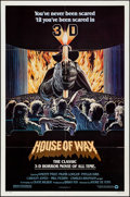 """Movie Posters:Horror, House of Wax & Other Lot (Warner Brothers, R-1981). Folded,Very Fine-. One Sheets (5) (27"""" X 41"""") & Lobby Card Set o..."""