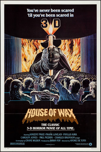House Of Wax Other Lot Warner Brothers R 1981 Folded Lot 53187 Heritage Auctions