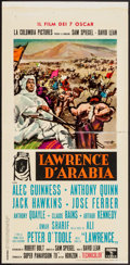"Movie Posters:Academy Award Winners, Lawrence of Arabia (Columbia, 1963). Italian Locandina (13"" X27.5""). Academy Award Winners.. ..."