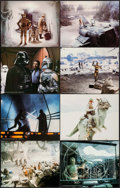 """Movie Posters:Science Fiction, The Empire Strikes Back (20th Century Fox, 1980). Deluxe Lobby CardSet of 8 (11"""" X 14""""). Science Fiction.. ... (Total: 8 Items)"""