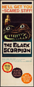"""Movie Posters:Science Fiction, The Black Scorpion (Warner Brothers, 1957). Insert (14"""" X 36"""").Science Fiction.. ..."""