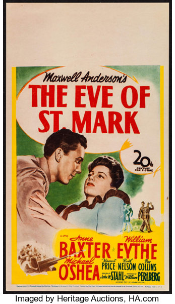 eve of st mark