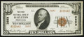 National Bank Notes:Pennsylvania, Hazleton, PA - $10 1929 Ty. 2 The First NB Ch. # 3893. ...