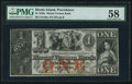 Obsoletes By State:Rhode Island, Providence, RI- Mount Vernon Bank $1 Nov. 22, 1858. ...