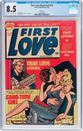 Golden Age (1938-1955):Romance, First Love Illustrated #16 File Copy (Harvey, 1952) CGC VF+ 8.5Light tan to off-white pages....