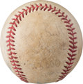 Baseball Collectibles:Balls, 1992 George Brett 3,000th Hit Game Used Signed Baseball....