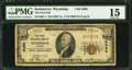 National Bank Notes:Wyoming, Kemmerer, WY - $10 1929 Ty. 1 The First NB Ch. # 5480. ...