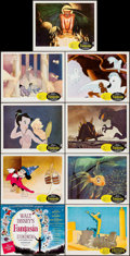 """Movie Posters:Animation, Fantasia (Buena Vista, R-1963). Lobby Card Set of 9 (11"""" X 14""""). Animation.. ... (Total: 9 Items)"""