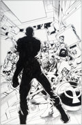 Original Comic Art:Covers, Carlo Pagulayan and Jason Paz Battle Scars #1 Cover CaptainAmerica and Nick Fury Original Art (Marvel, 2012)....