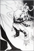 Original Comic Art:Splash Pages, Olivier Coipel Thor V3#12 Splash Page 5 Original Art(Marvel, 2009)....