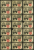 Fractional Currency:Fifth Issue, Fr. 1266 10¢ Fifth Issue Thirty-five Examples About New or Better.. ... (Total: 35 notes)