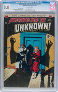 Golden Age (1938-1955):Horror, Adventures Into The Unknown #11 (ACG, 1950) CGC VF 8.0 Off-whitepages....