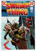 Bronze Age (1970-1979):Horror, Swamp Thing #2 (DC, 1973) Condition: NM-....