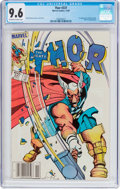 Modern Age (1980-Present):Superhero, Thor #337 (Marvel, 1983) CGC NM+ 9.6 Off-white to white pages....