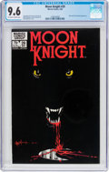 Modern Age (1980-Present):Superhero, Moon Knight #29 (Marvel, 1983) CGC NM+ 9.6 Off-white to whitepages....