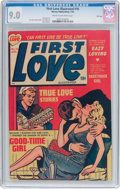 Golden Age (1938-1955):Romance, First Love Illustrated #16 File Copy (Harvey, 1952) CGC VF/NM 9.0Cream to off-white pages....