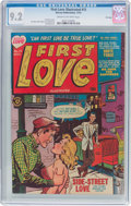 Golden Age (1938-1955):Romance, First Love Illustrated #15 File Copy (Harvey, 1951) CGC NM- 9.2Cream to off-white pages....