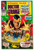 Silver Age (1956-1969):Horror, Strange Tales #156 (Marvel, 1967) Condition: VG/FN....