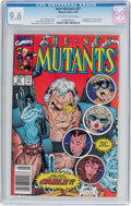 Modern Age (1980-Present):Superhero, The New Mutants #87 (Marvel, 1990) CGC NM+ 9.6 Off-white to whitepages....
